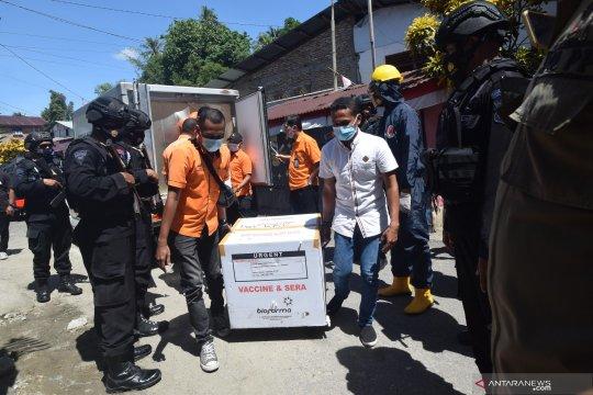 Satgas COVID-19 tunda distribusi vaksin ke 10 daerah di Maluku