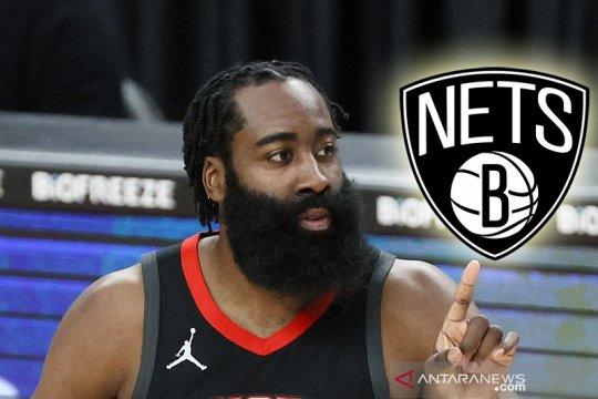 Nets resmi umumkan kedatangan James Harden