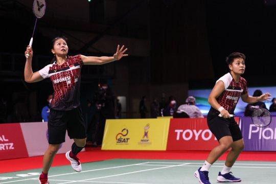 Greysia/Apriyani rebut tiket final Thailand Open dari unggulan ketiga