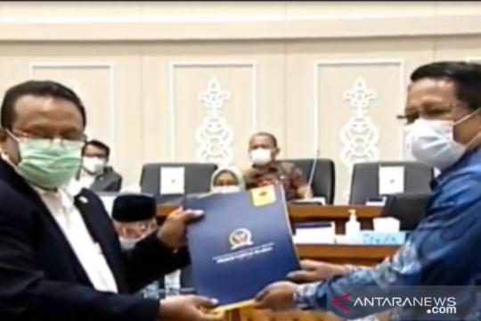 Baleg DPR RI sahkan 33 Prolegnas Prioritas 2021