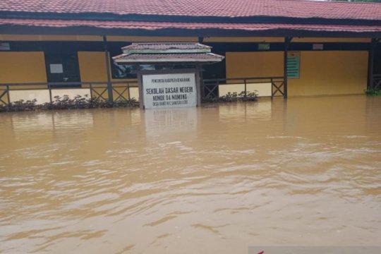 Sejumlah sekolah di Bengkayang Kalbar terendam banjir