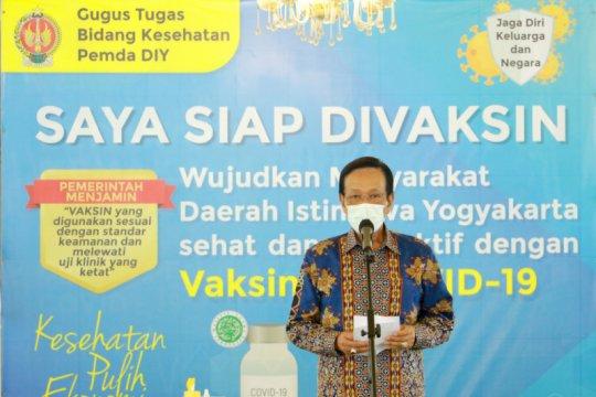 Gubernur DIY ajak warga ikuti vaksinasi COVID-19 tanpa disertai sanksi