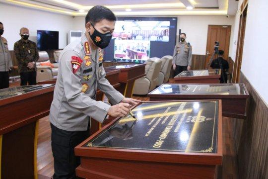 Kapolri resmikan gedung baru Divisi Humas Polri
