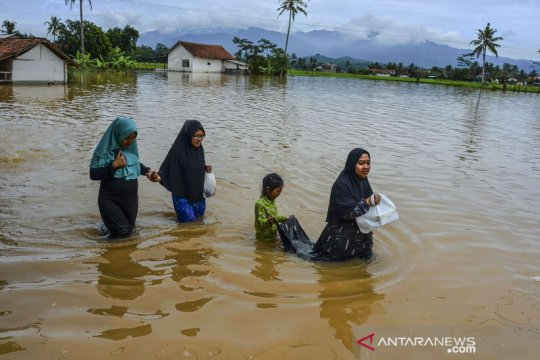 Banjir di Tasikmalaya rendam 400-an rumah warga
