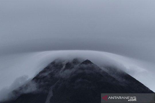 Kubah lava baru Gunung Merapi