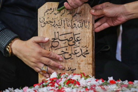 Pemakaman Syekh Ali Jaber
