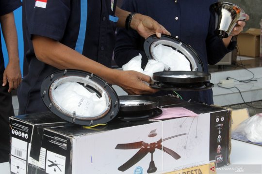 BC Juanda gagalkan penyelundupan sabu dari Malaysia