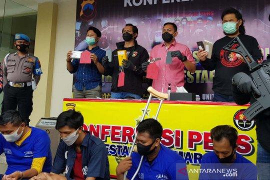 Polisi ringkus komplotan begal yang beraksi di Kota Semarang