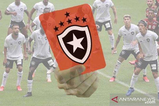 Pemainnya mbalelo, Botafogo terapkan hukuman denda