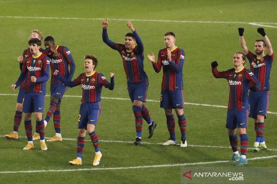 Menang penalti lawan Real Sociedad, Barcelona lolos ke final Piala Super Spanyol