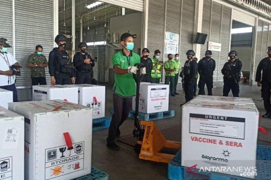 34.840 vial vaksin COVID-19 tiba di Sumatera Utara