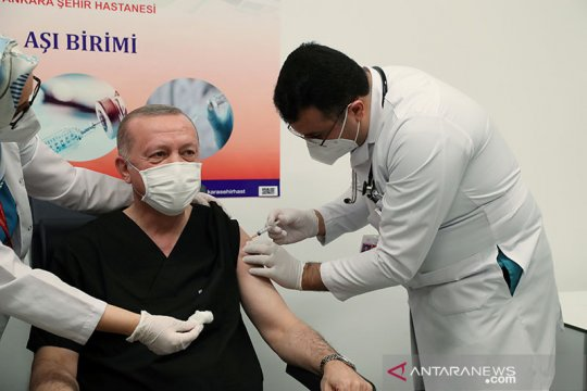 Turki terima 6,5 juta dosis tambahan vaksin Sinovac