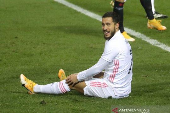 Zidane sebut Eden Hazard butuh dukungan biar kembali percaya diri