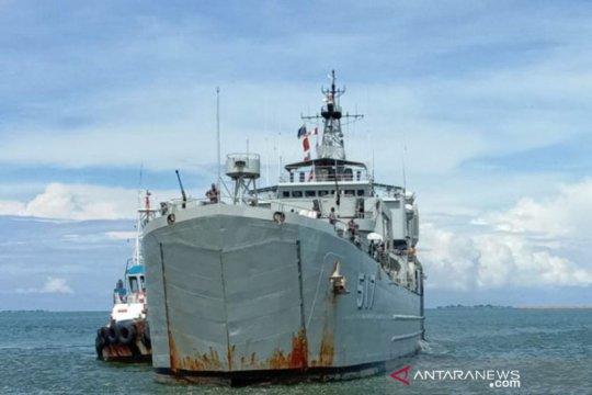 Lantamal VI kerahkan KRI Teluk Ende ke Sulbar