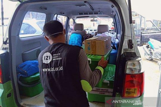 IZI Sulsel kirim tim medis dan siapkan dapur umum di Majene