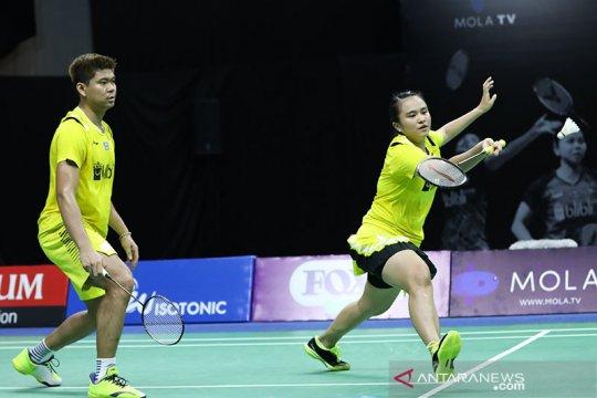 Sengit, Praveen/Melati rebut tiket ke semifinal Thailand Open