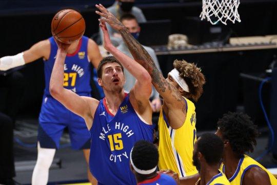 Nikola Jokic cetak triple-double saat Nuggets kalahkan Warriors