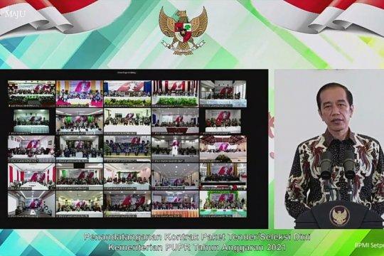 Presiden sebut Indonesia alami beragam cobaan masuki 2021
