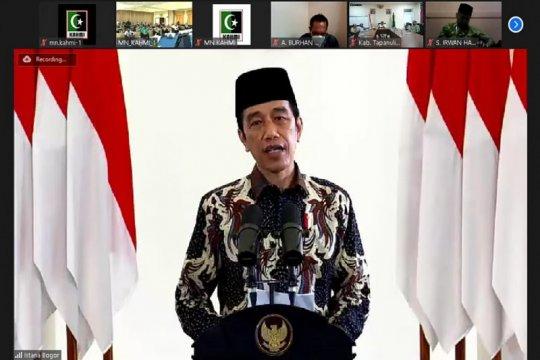Presiden berharap KAHMI berkontribusi di segala bidang