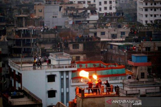 Kebakaran di RS Bangladesh tewaskan tiga pasien ICU COVID