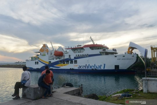 Kedatangan kapal baru Aceh Hebat