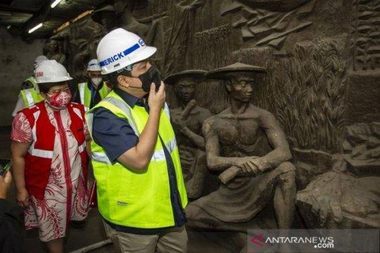 Erick minta Sarinah - WIKA perbaiki relief bersejarah yang ditemukan