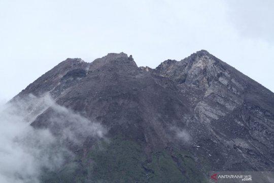 Volume kubah lava baru Gunung Merapi