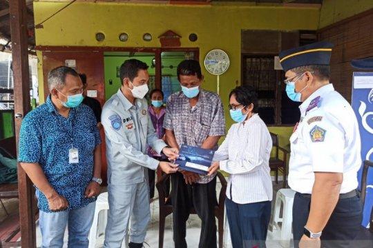 Jasa Raharja serahkan santunan bagi pramugari Sriwijaya SJ-182 di Bali