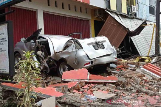 Foto terbaru dampak gempa bumi di Sulawesi Barat