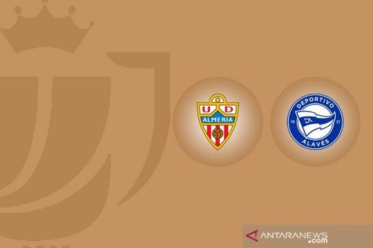 Tim strata kedua Almeria cukur Alaves 5-0 dalam Copa del Rey