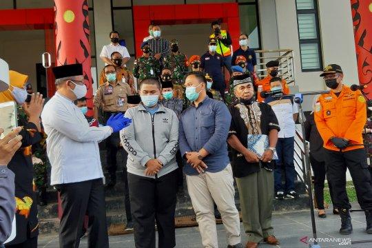 Gubernur dan Bupati Mempawah sambut jenazah korban Sriwijaya SJ 182