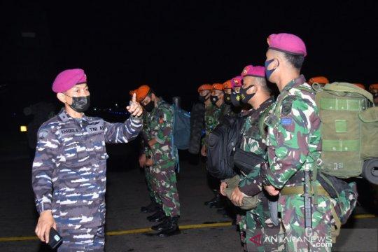 Marinir kerahkan Satgas Kemanusiaan bantu korban banjir di Banjarmasin