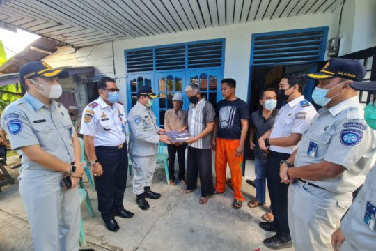 Jasa Raharja serahkan santunan korban Sriwijaya Air, Putri Wahyuni