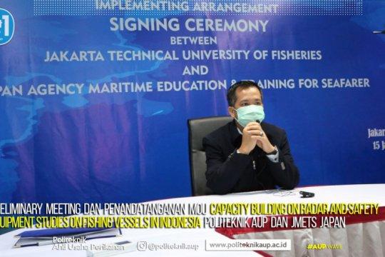 KKP-Jepang kolaborasi bangun kapasitas pelaut Indonesia