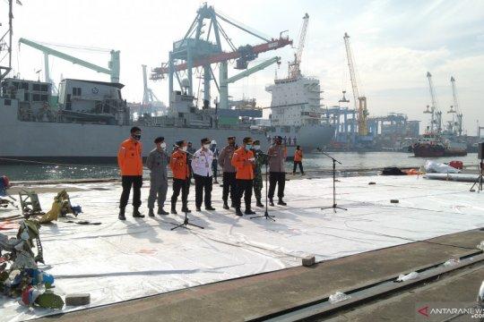 Basarnas tegaskan CVR Sriwijaya Air SJ-182 belum ditemukan