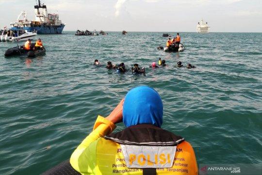 Penyelam Polri fokus pencarian korban Sriwijaya Air SJ-182