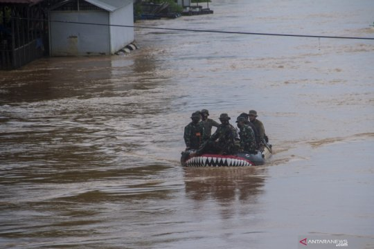 Penyempitan hutan meningkatkan risiko banjir di Kalimantan Selatan