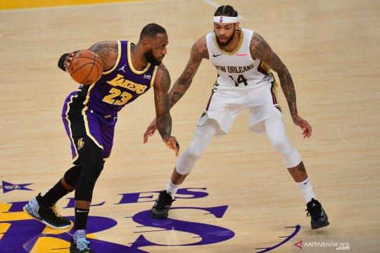 NBA:  LA Lakers kalahkan New Orleans Pelicans 112 - 95