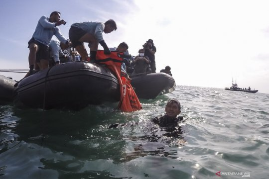 Basarnas kumpulkan total 310 kantong jenazah korban pesawat SJ 182