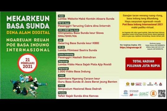 PANDI dan pegiat bahasa Sunda kampanyekan pelestarian bahasa daerah