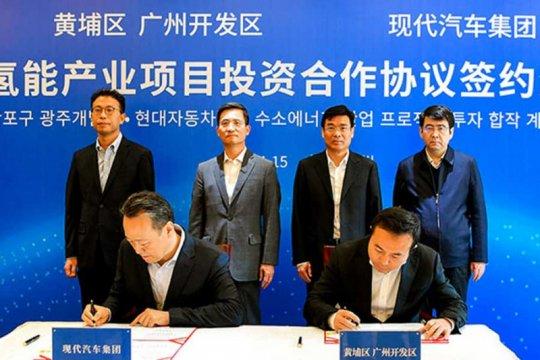 Seriusi pasar China, Hyundai bangun pabrik sel bahan bakar