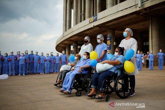Tingkat hunian ICU di Brazil capai 90 persen