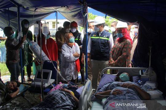 Menkes tinjau penanganan korban gempa Mamuju