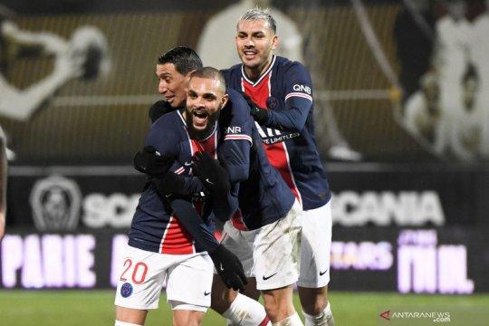 Layvin Kurzawa antar PSG ke puncak usai kalahkan Angers