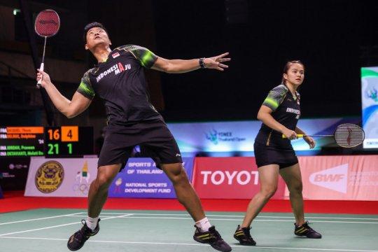 Praveen/Melati harus puas jadi runner up Thailand Open 2021