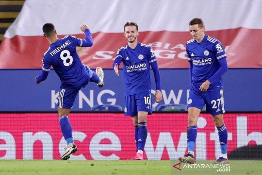 Leicester lompat ke posisi kedua selepas bungkam Southampton