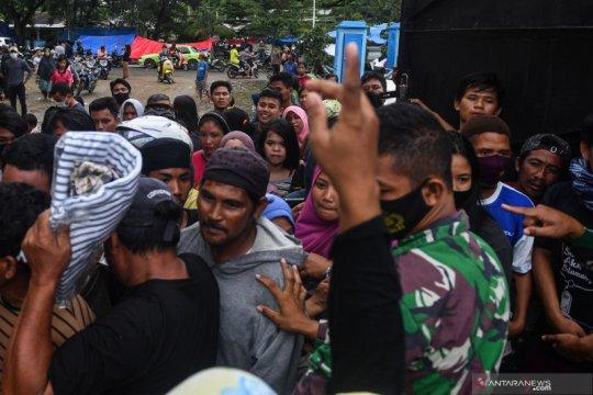 BNPB catat total korban gempa Sulbar 73 orang, mengungsi 27.850