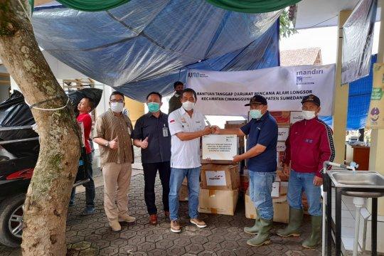 Bank Mandiri salurkan bantuan tanggap darurat bagi korban bencana