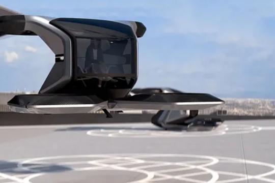 """GM ungkap konsep mobil terbang dan otonom """"Cadillac Halo"""""""