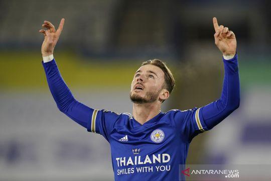 Menang 2-0 atas Southampton, Leicester salip Liverpool